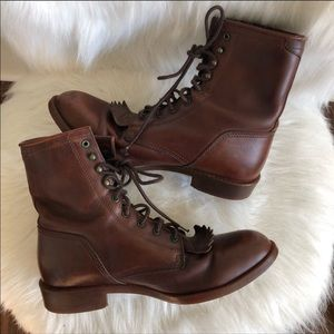 Ariat Heritage Lace Up Combat Work Boots